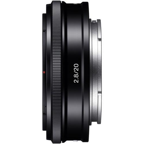 עדשה Sony 20mm f/2.8 E-mount Lens