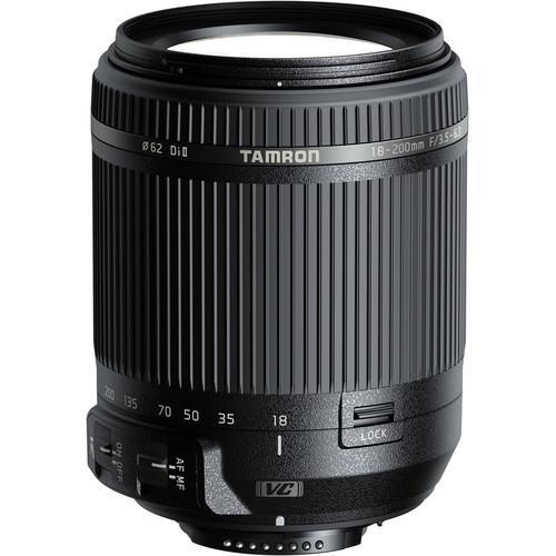 עדשה Tamron 18-200mm f/3.5-6.3 Di II VC למצלמות Nikon