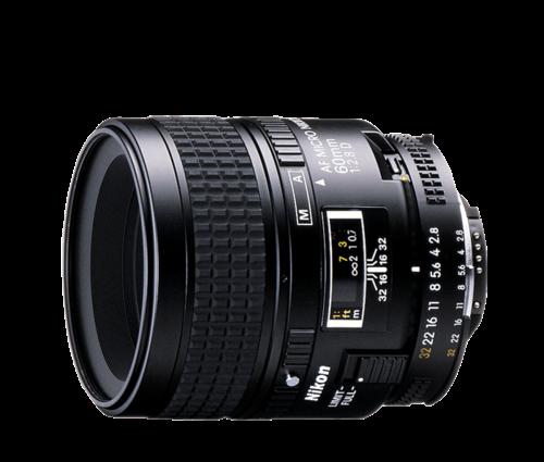 עדשה Nikon AF Micro Nikkor 60mm f/2.8D