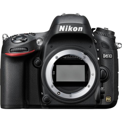 מצלמת רפלקס Nikon D610 גוף בלבד