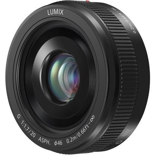 עדשה Panasonic Lumix G 20mm f/1.7 II ASPH