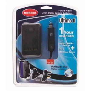 מטען אוניברסלי לסוללות ניקון Hahnel Ultima II For Nikon