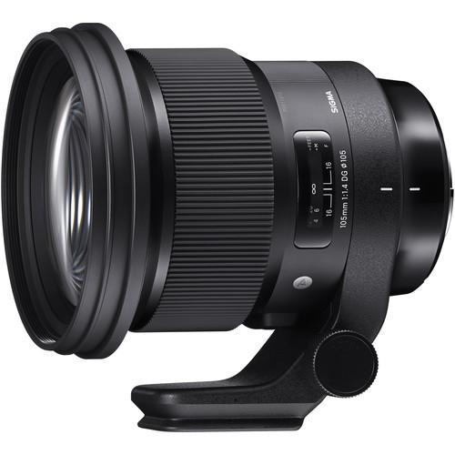 עדשה Sigma 105mm f/1.4 DG HSM Art למצלמות Nikon