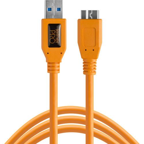 כבל Tether Tools TetherPro USB Type-C to USB3.0 Micro-B