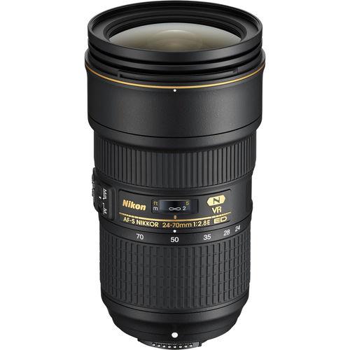 עדשה Nikon AF-S NIKKOR 24-70mm f/2.8E ED VR
