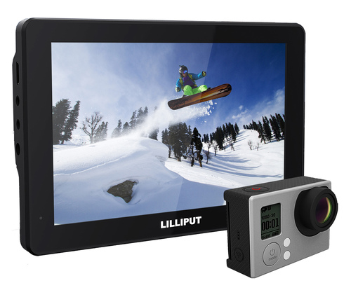 "Lilliput Mopro 7"" X-Sports For GoPro Hero 3+/4 & DSLR"