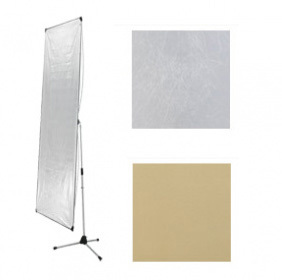 פאנל רפלקטור בלבד Rimelite Lite Panel 100X180 gold / silver