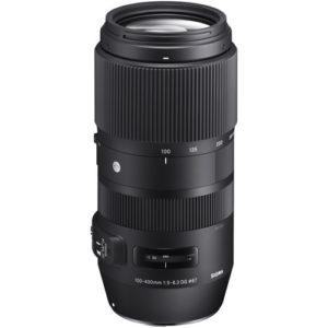 עדשה Sigma 100-400mm f/5-6.3 dg os hsm c למצלמות Nikon