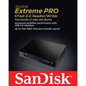 קורא כרטיסים SanDisk Extreme PRO CFast 2.0 Reader/Writer