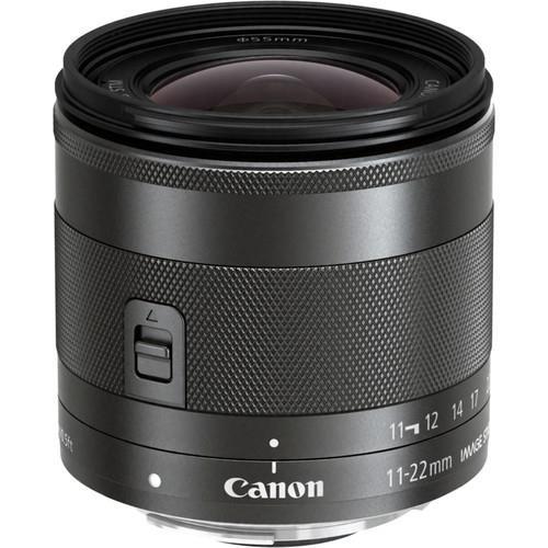 עדשה Canon EF-M 11-22mm f/4-5.6 IS STM