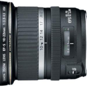 עדשה Canon EF-S 10-22mm f/3.5-4.5 USM
