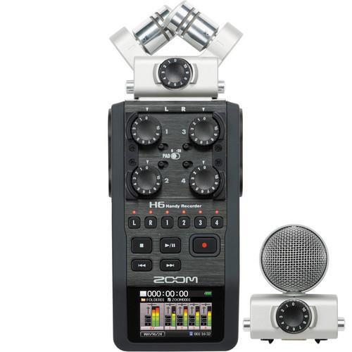 מכשיר הקלטה נייד מקצועי Zoom H6