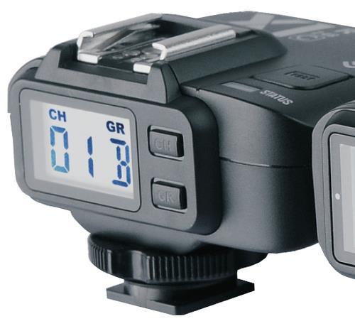 מקלט Godox X1-N TTL למצלמות Nikon