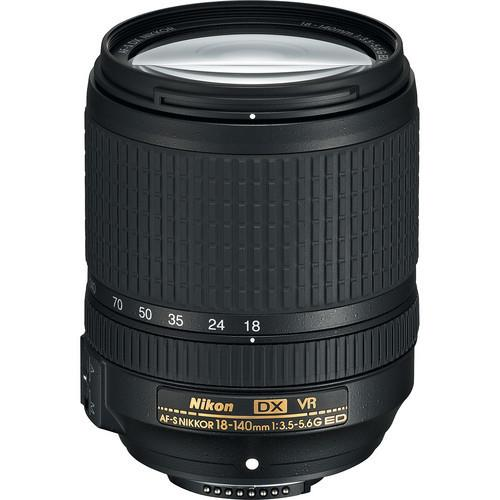 עדשה Nikon AF-S DX NIKKOR 18-140mm f/3.5-5.6G ED VR