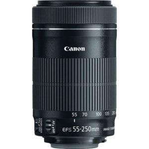 עדשה Canon EF-S 55-250mm f/4-5.6 IS STM
