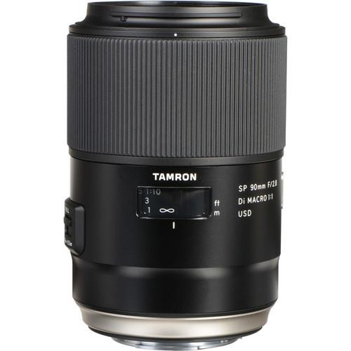 עדשה Tamron 90mm f/2.8 SP Di MACRO 1:1 USD למצלמות Sony A Mount