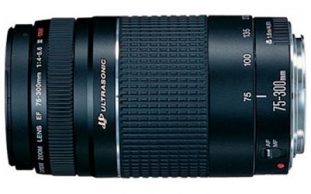 עדשה Canon EF 75-300mm f/4-5.6 III