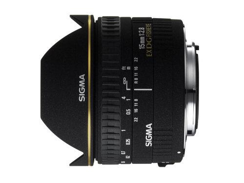עדשה Sigma 15mm f/2.8 EX DG DIAGONAL Fisheye למצלמות Canon