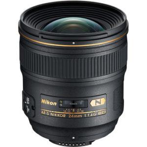 עדשה Nikon AF-S NIKKOR 24mm f/1.4G ED