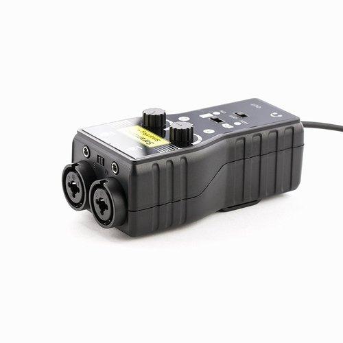 Saramonic SmartRig+ 2-Channel XLR/3.5mm Microphone Audio Mixer with Phantom Power Preamp