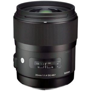 עדשה Sigma 35mm f/1.4 DG HSM Art למצלמות Canon