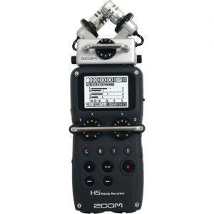 מקליט סאונד נייד מקצועי קומפקטי Zoom H5