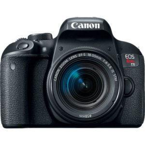 קיט מצלמה ועדשה Canon EOS 800D + 18-55mm IS STM