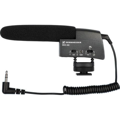 מיקרופון שוטגן קומפקטי Sennheiser MKE 400