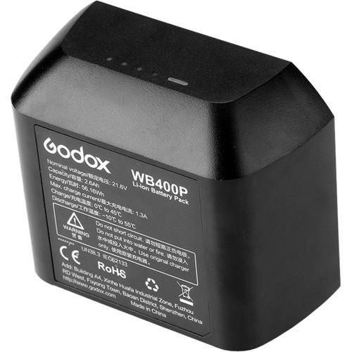 סוללה godox wb400p battery for ad400 pro