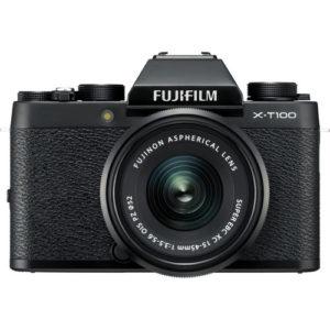 קיט מצלמה ללא מראה FujiFilm X-T100+15-45mm