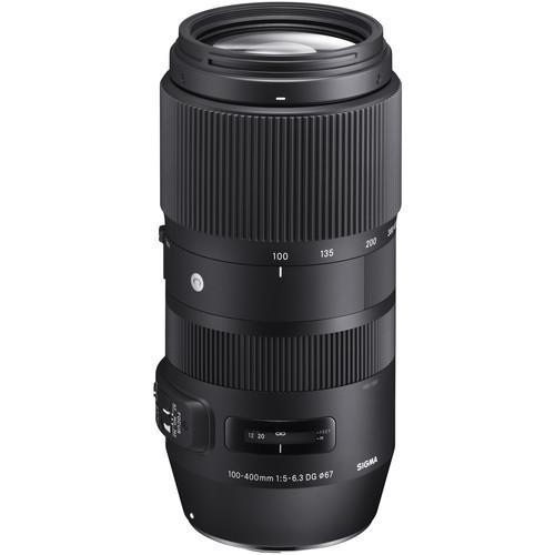 עדשה Sigma 100-400mm f/5-6.3 dg os hsm c למצלמות Canon