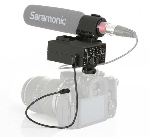מתאם סאונד Saramonic Mix Audio Adapter Kit