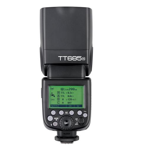 פלאש Godox TT685n למצלמות Nikon
