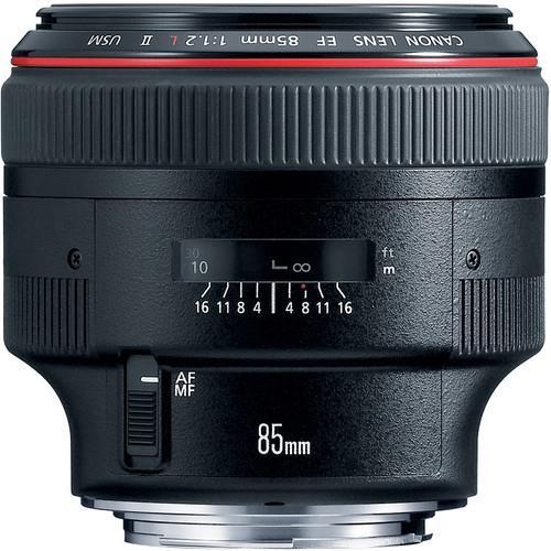 עדשה Canon EF 85mm f/1.2L II USM