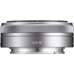 עדשה Sony SEL 16mm f/2.8