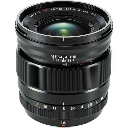 עדשה Fujifilm XF 16mm f/1.4 R WR
