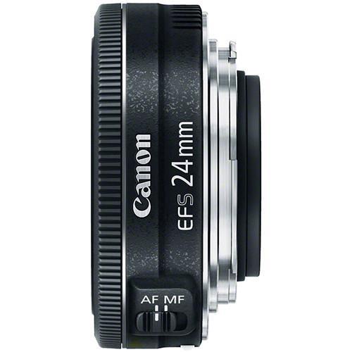 עדשה קבועה Canon EF-S 24mm f/2.8 STM