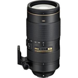 עדשה NIKON AF-S 80-400mm f/4.5-5.6G ED VR