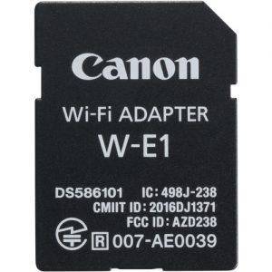 מתאם אינטרנט אלחוטי Canon W-E1 Wi-Fi Adapter
