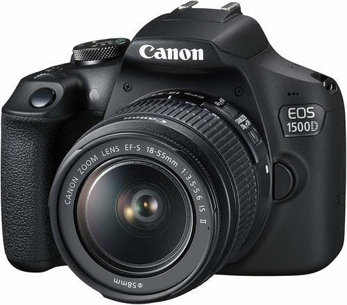 קיט Canon EOS 1500d + 18-55mm IS II