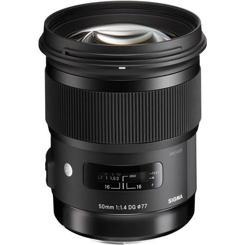 עדשה Sigma 50mm f/1.4 DG HSM Art למצלמות Nikon