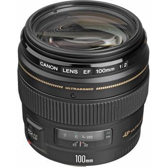 עדשה Canon EF 100mm f/2 USM