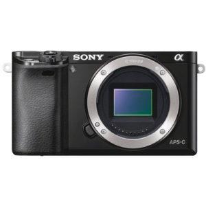 מצלמה ללא מראה Sony Alpha A6000 - גוף בלבד