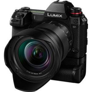 קיט מצלמת מירורלס ועדשה Panasonic Lumix DC-S1M + 24-105mm