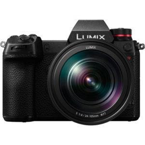 קיט מצלמת מירורלס ועדשה Panasonic Lumix DC-S1RM + 24-105mm