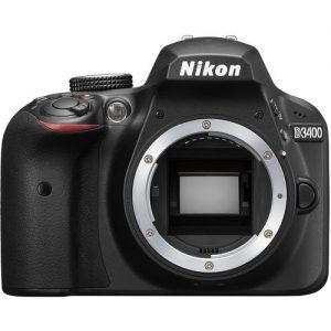 מצלמת רפלקס Nikon D3400 גוף בלבד