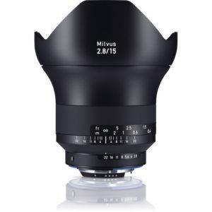עדשה Zeiss Milvus 15mm f/2.8 ZF.2 למצלמות Nikon
