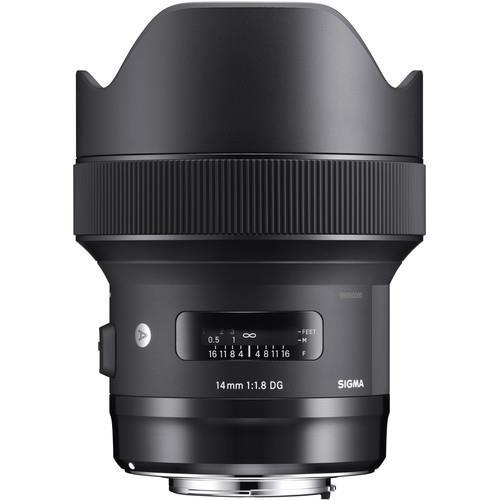 עדשה Sigma 14mm f/1.8 DG HSM Art למצלמות Nikon
