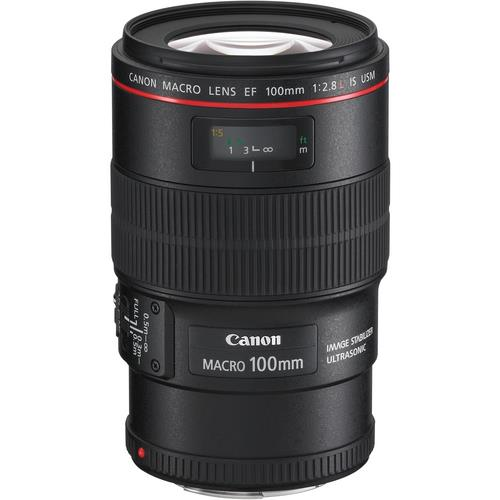 עדשה Canon EF 100mm f/2.8L Macro IS USM