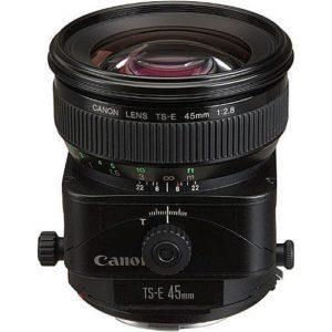 עדשה Canon Tilt–shift TS-E 45mm f/2.8